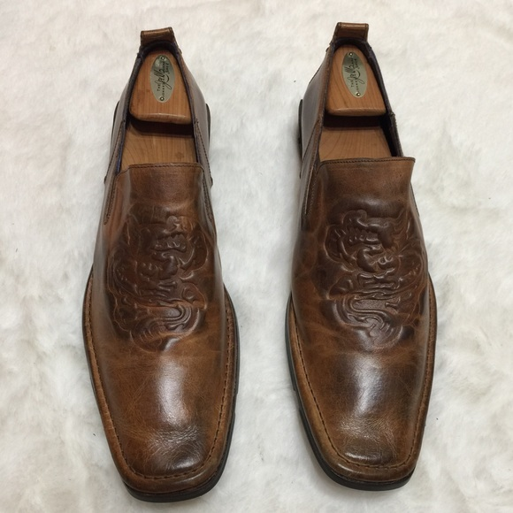409e2f5845b MARK NASON Rock Never Dies Leather Loafer Shoes. M 5b4b6a818ad2f97620a05180